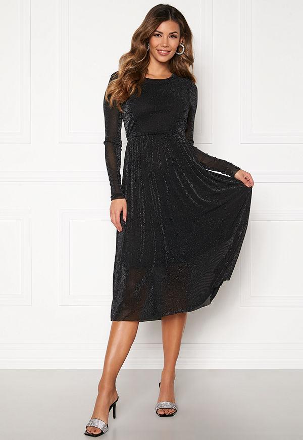 Y.a.s Jessa LS Lurex Midi Dress