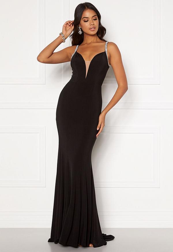 Moments New York Irina Sparkle Gown Black
