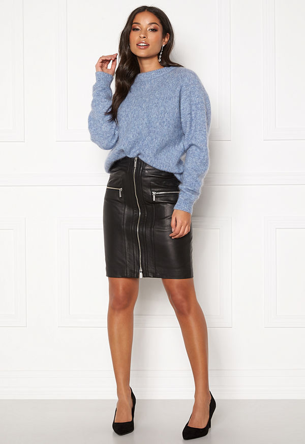 ROCKANDBLUE Willow Lamb Chill Skirt Black