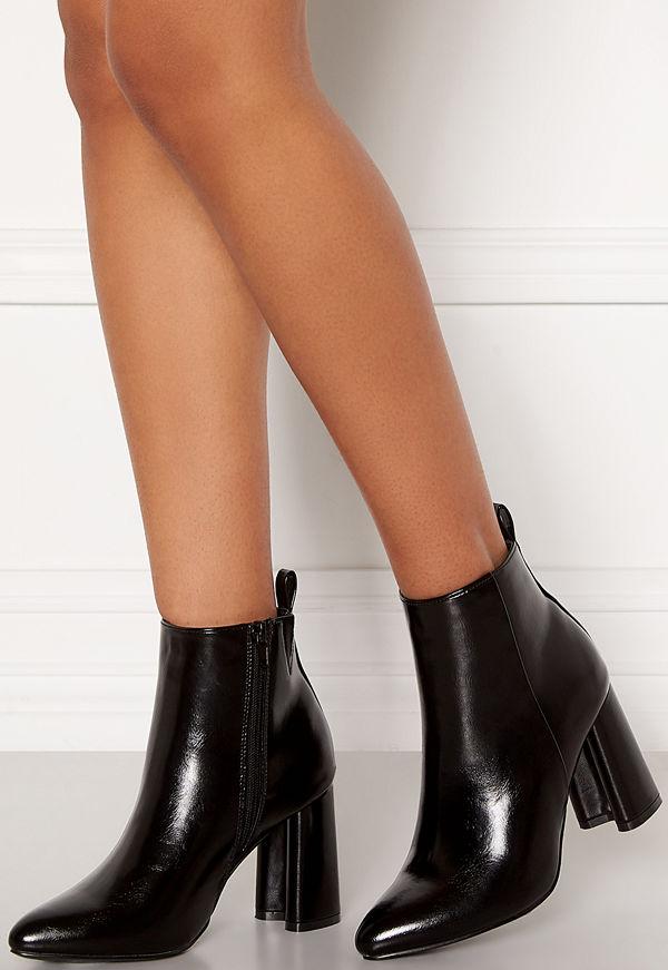 Only Brodie Pu Heeled Boot Black