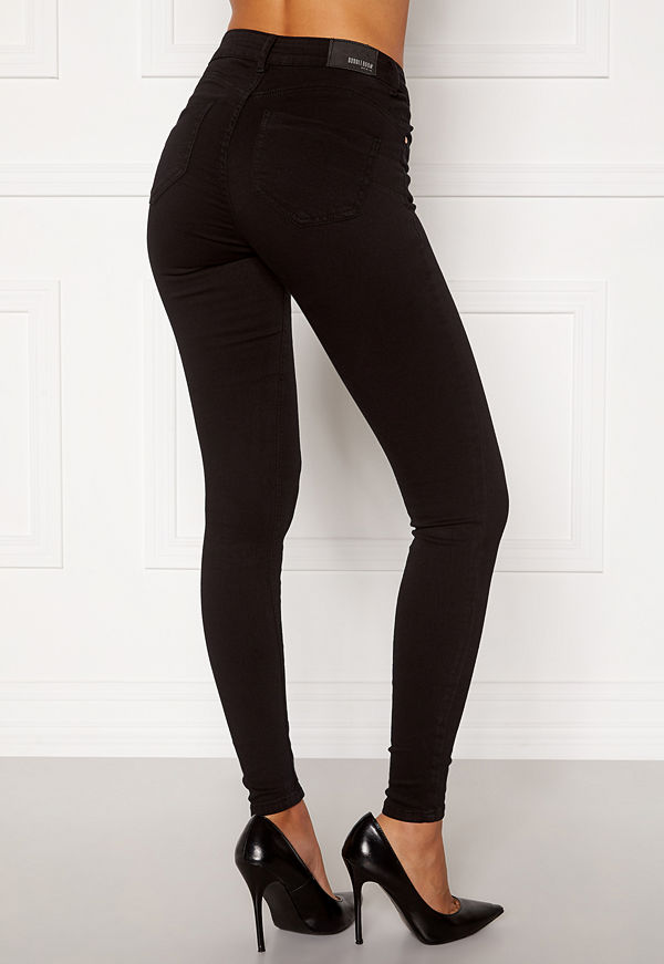 Bubbleroom Miranda Push-up jeans Black