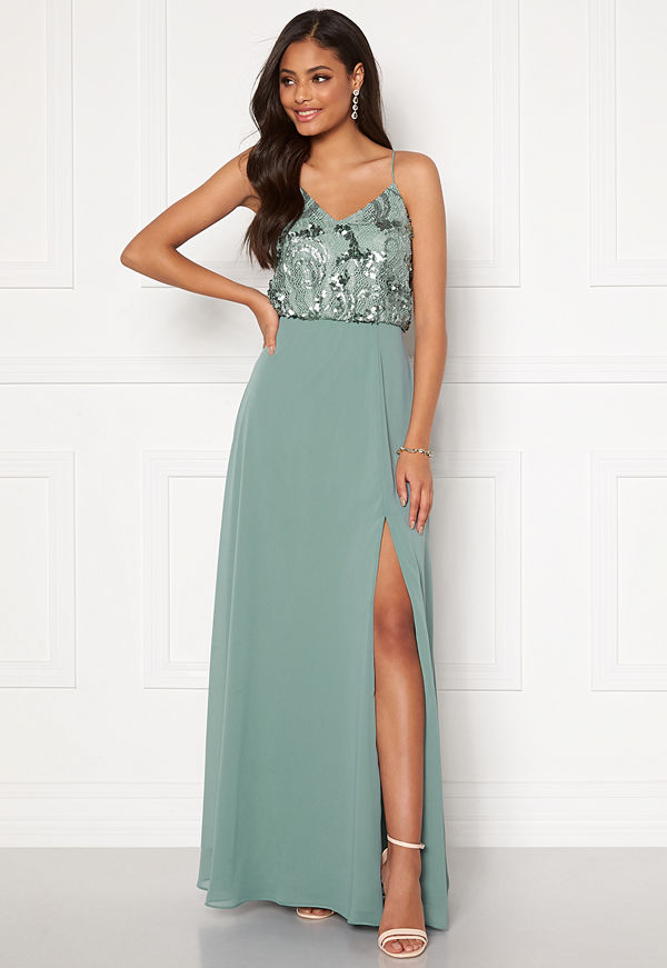 Moments New York Elouise Sequin gown