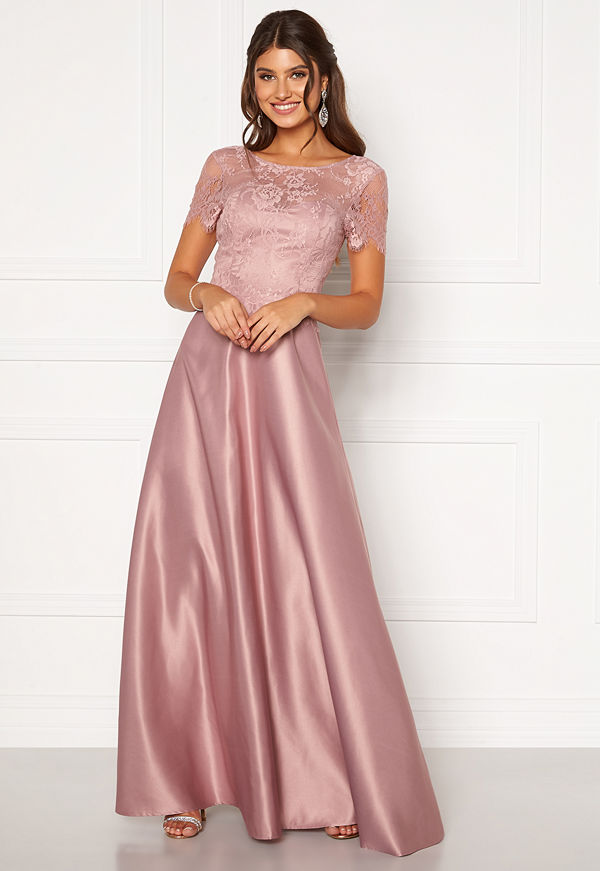 Moments New York Madeleine Satin Gown Light lilac