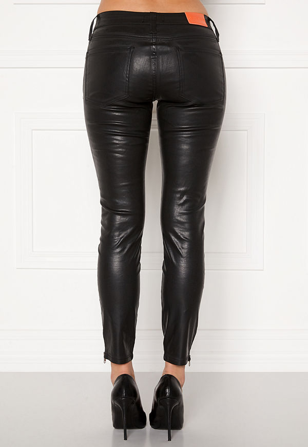 the ODENIM O-Kite Jeans 05 Coated Black