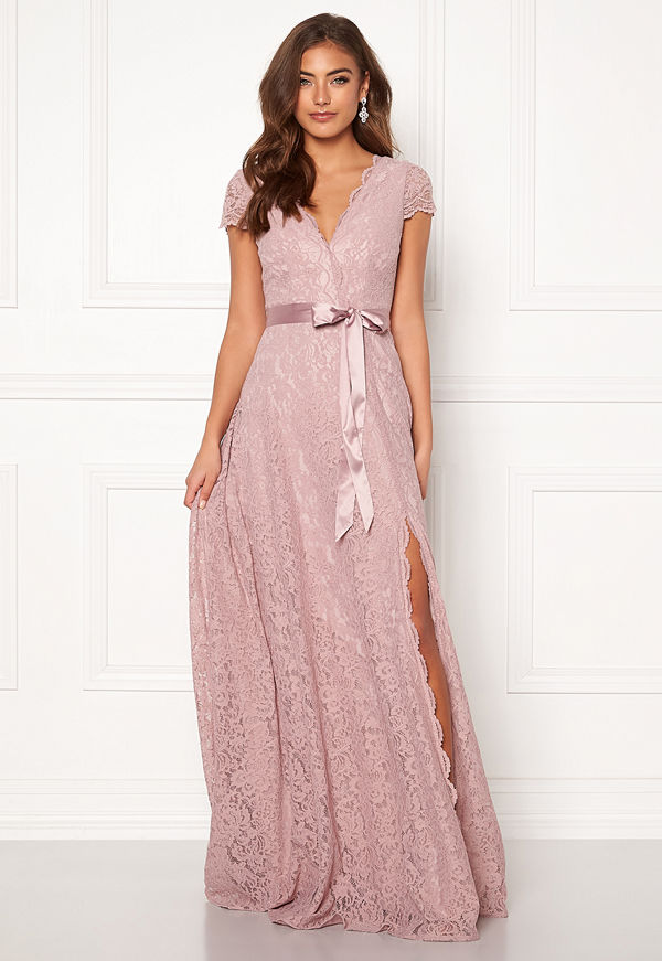 Moments New York Viola Lace Gown Dusty lilac