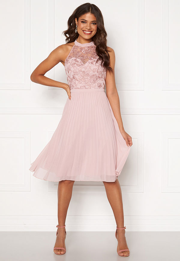 Chi Chi London Pyper Lace Bodice Dress