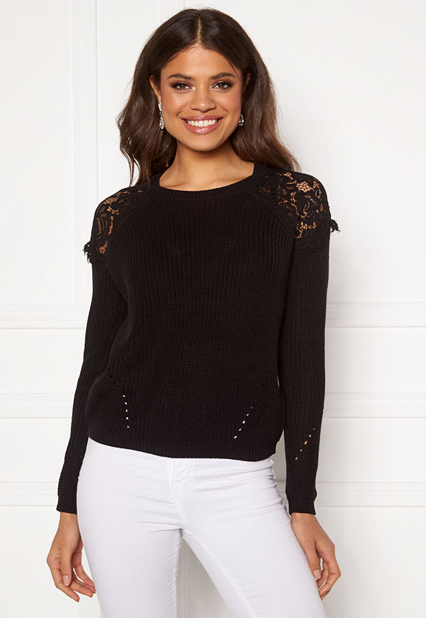 Only Elrosa L/S Lace Pullover