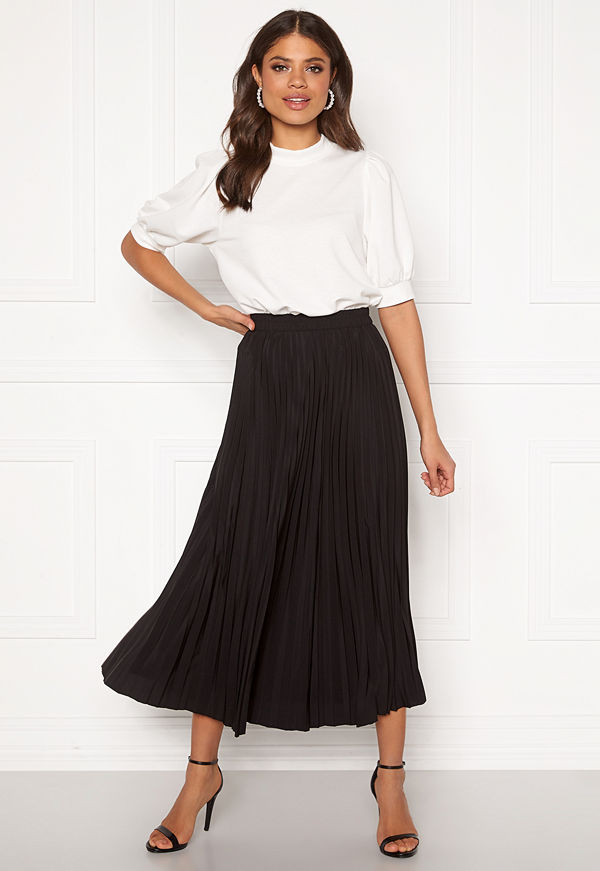 Selected Femme Alexis MW Midi Skirt Black