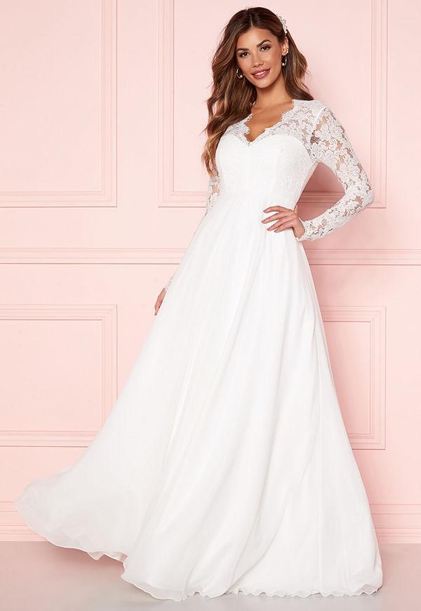 Chiara Forthi Kate lace gown White