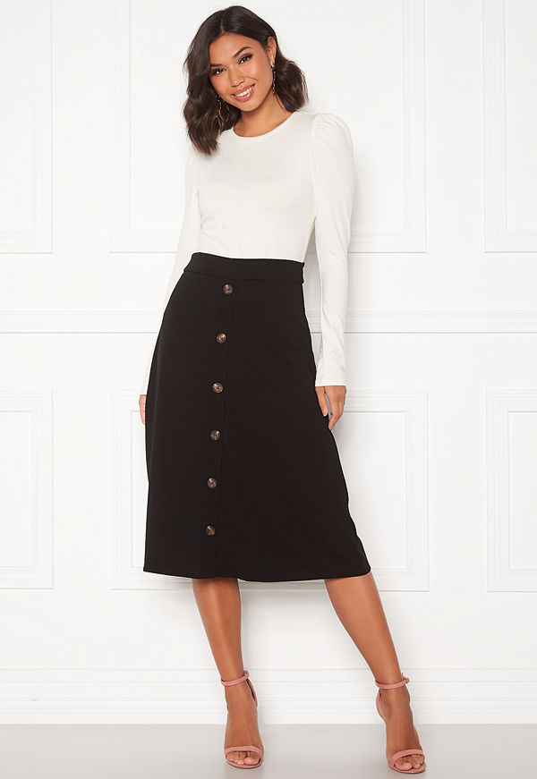 Jacqueline de Yong Bellis Button Skirt