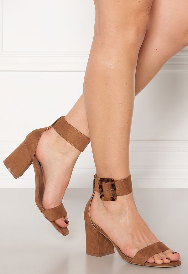 Only Amanda Ankle Strap Heeled Sandal