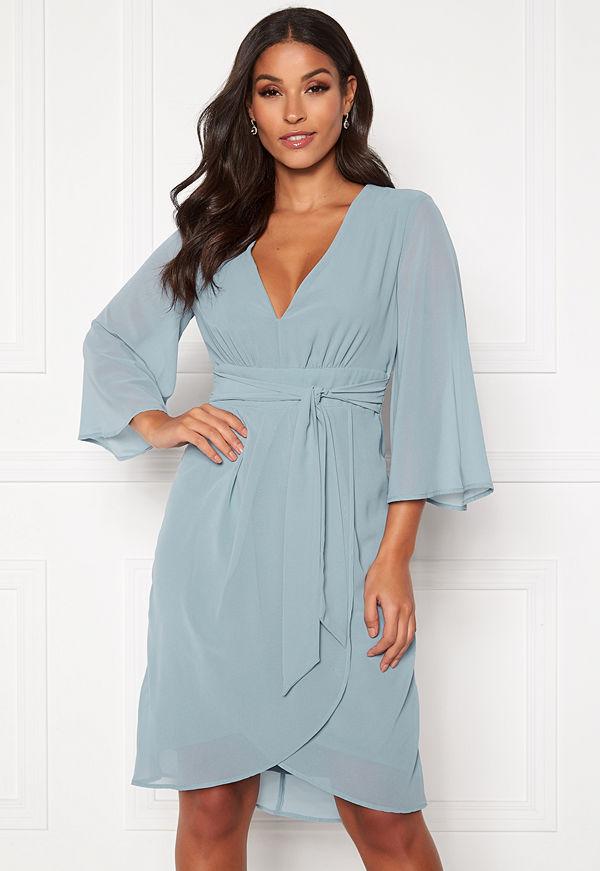 Vila Micada 3/4 Sleeve Dress Ashley Blue