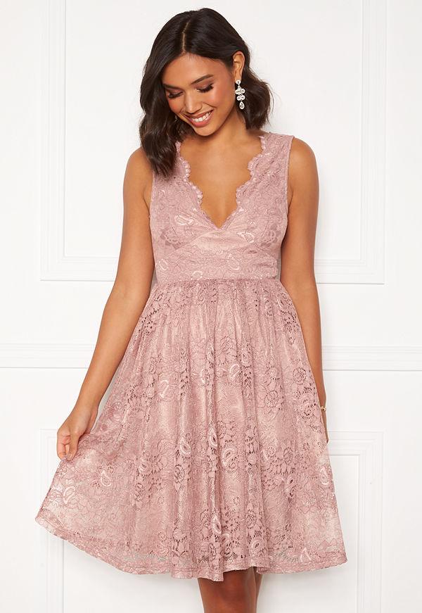 Moments New York Ella Lace Dress Pink
