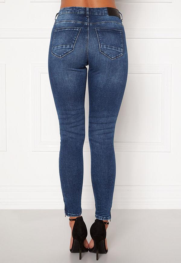 Noisy May Kimmy NW Ankle Jeans Medium Blue Denim