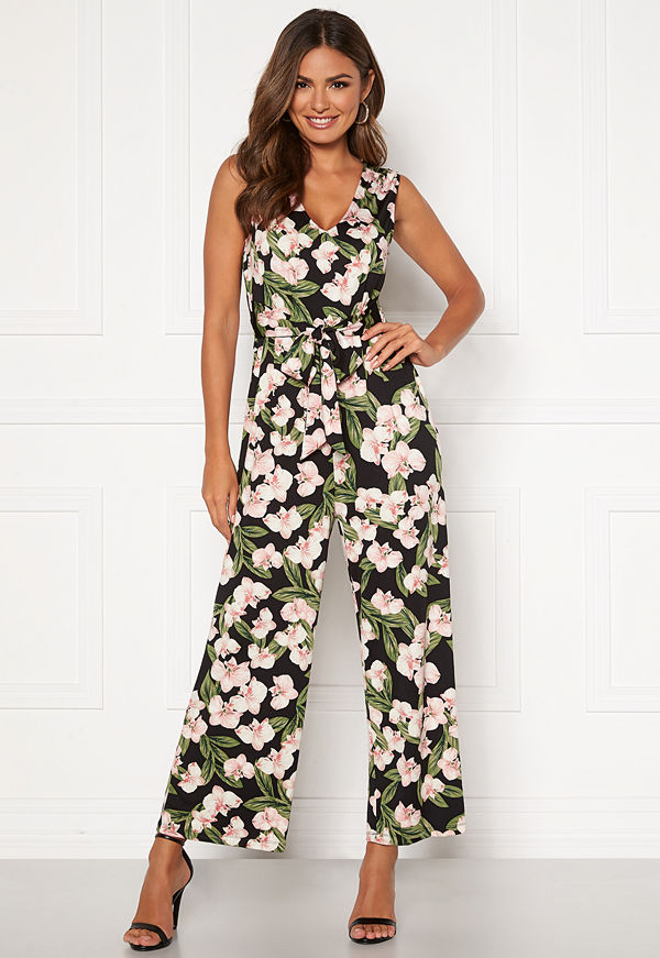 Happy Holly Celine sleeveless jumpsuit Floral