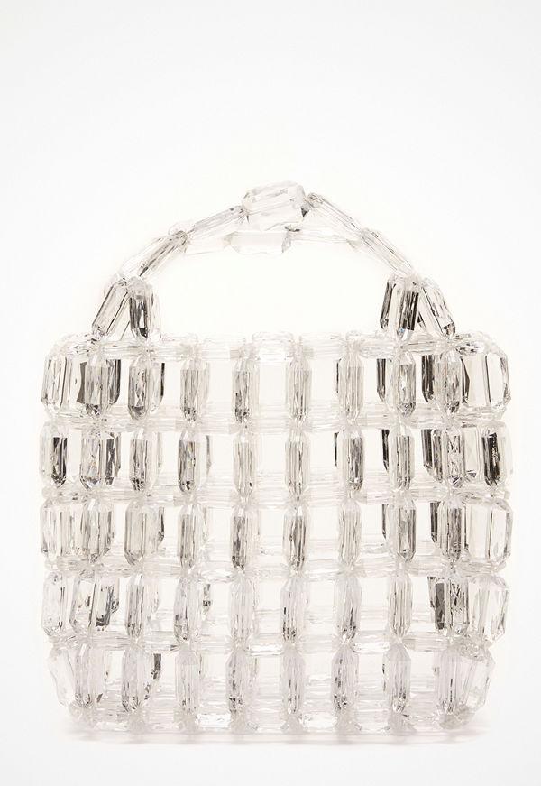 Pieces Milka Pearl Bag Bright White