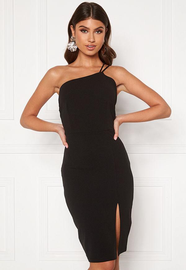 Bubbleroom Gabrielle midi dress Black