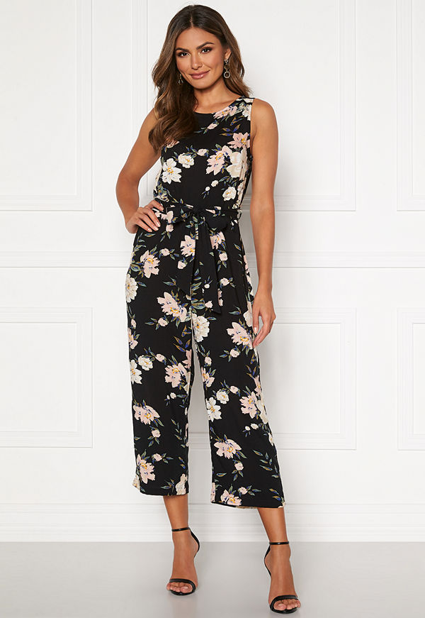 Happy Holly Mollie jumpsuit Black / Patterned