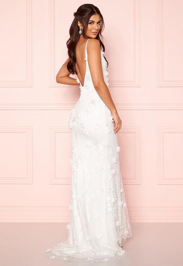 Nicole Falciani X Bubbleroom Nicole Falciani Wedding Gown White