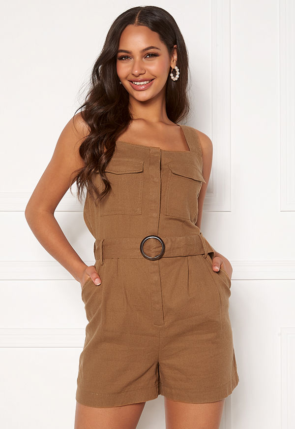 Only Noreen-Bibs Playsuit