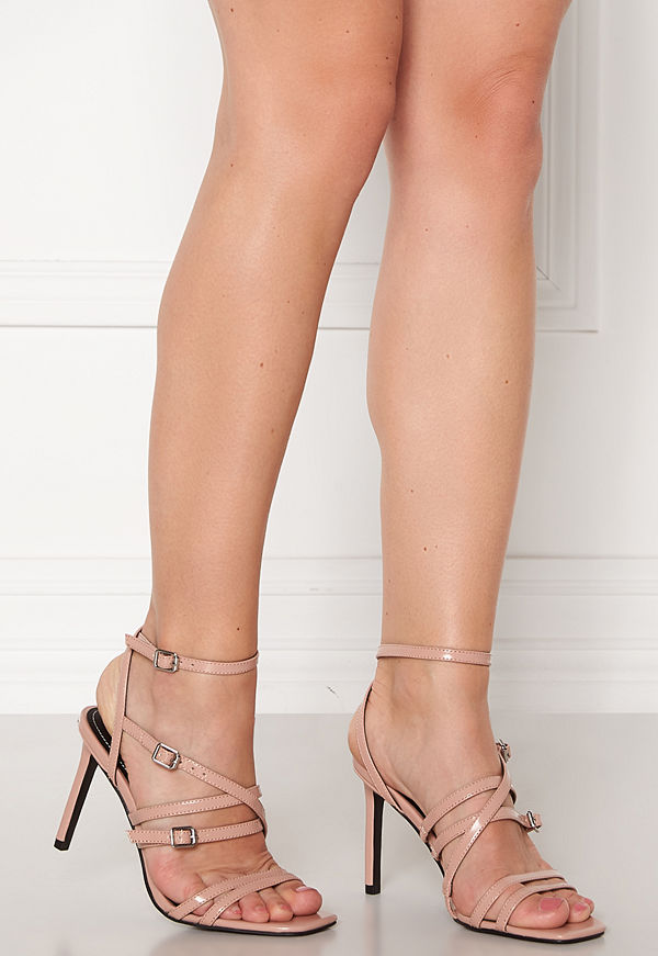 Only Alyx PU Heeled Sandal Nude