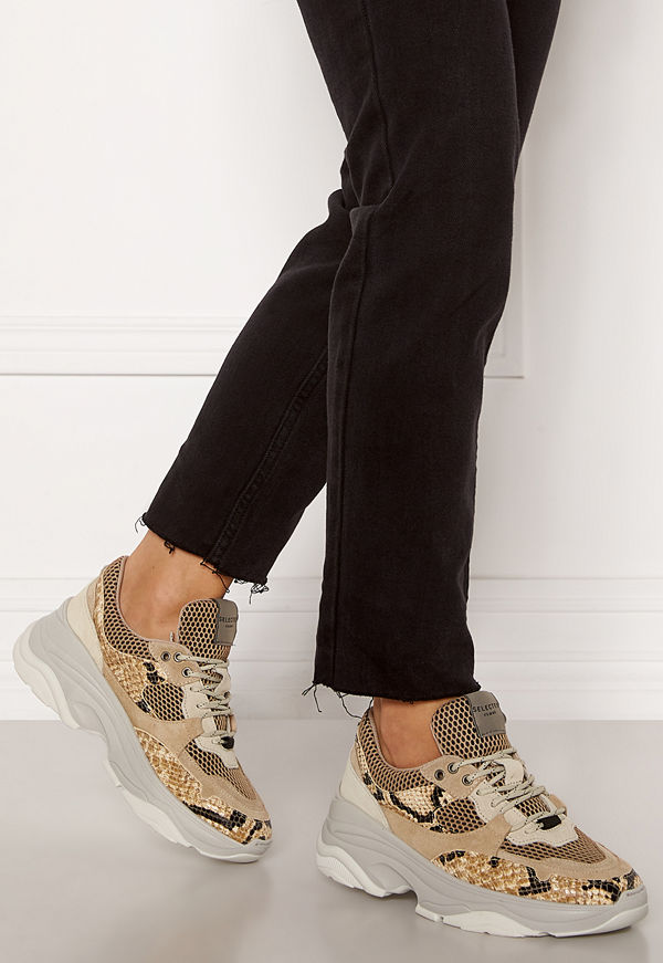 Selected Femme Gavina Trainer Shoes Tigers Eye