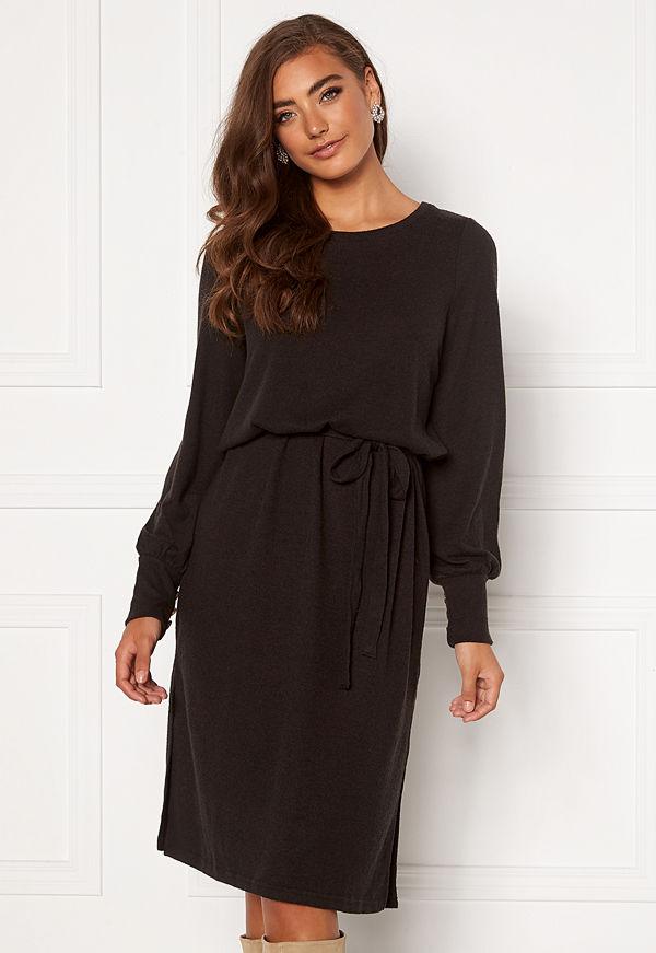 Ichi Yose Dress Black
