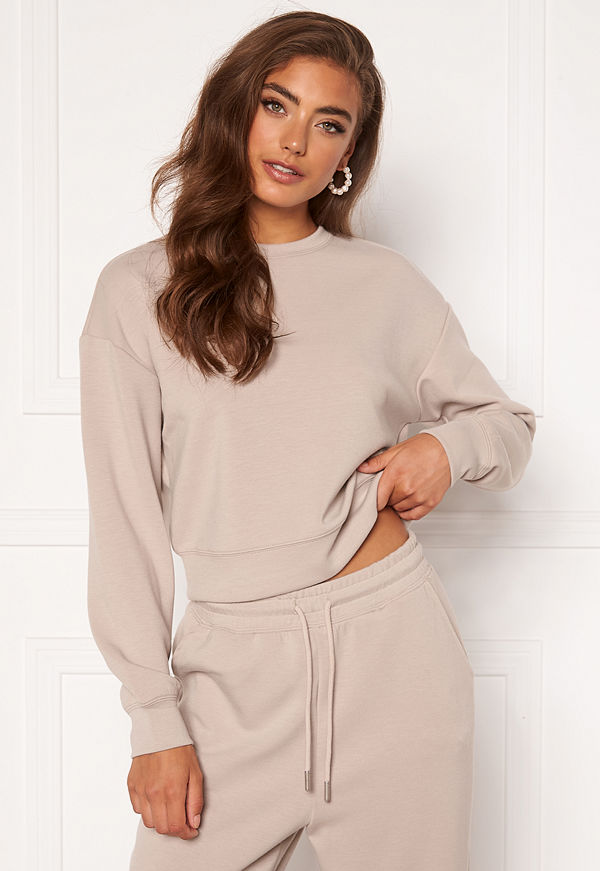 Only Scarlett L/S O-Neck Feather Gray
