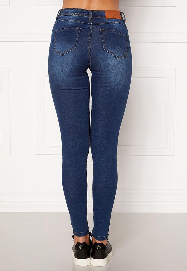 Noisy May Jen NW S.S Shaper Jeans Medium Blue Denim