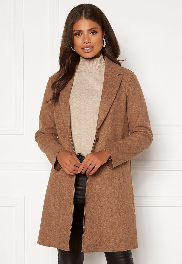 Only Carrie Bonded Coat Woodsmoke