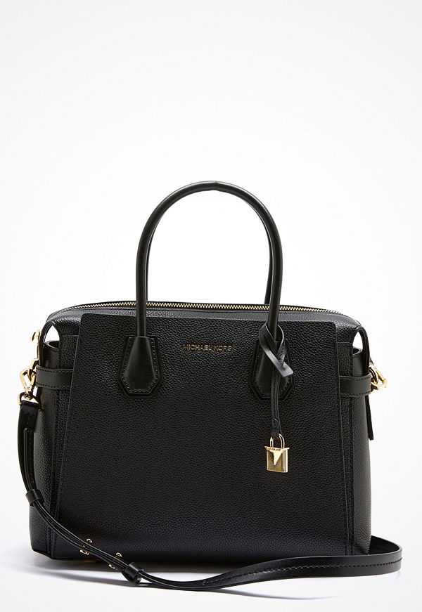 MICHAEL Michael Kors svart shopper Mercer Belted Bag Black