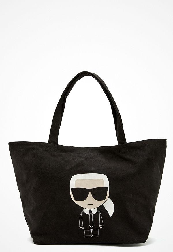 Karl Lagerfeld Ikonik Karl Canvas Tote