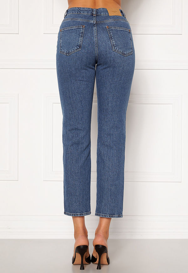 Vero Moda Carla HR Reg Ankle Jeans Medium Blue Denim