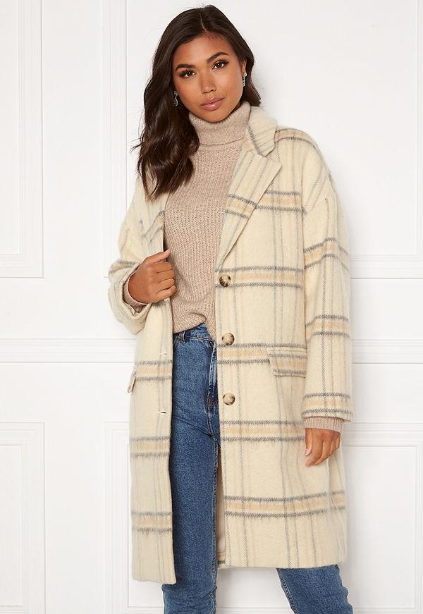 Levi's Wool Cocoon Coat 0001 Whittier Almond