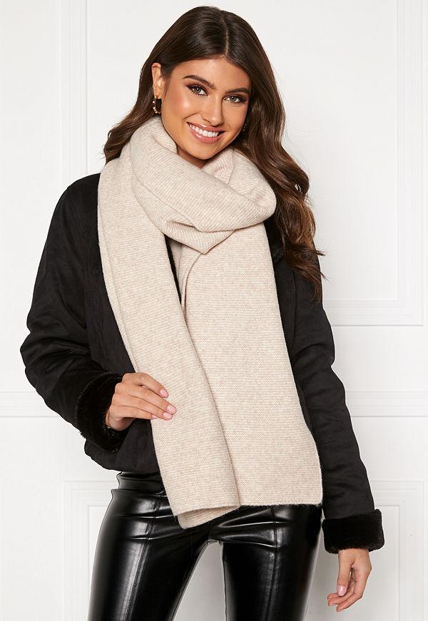 Bubbleroom Malin scarf Beige