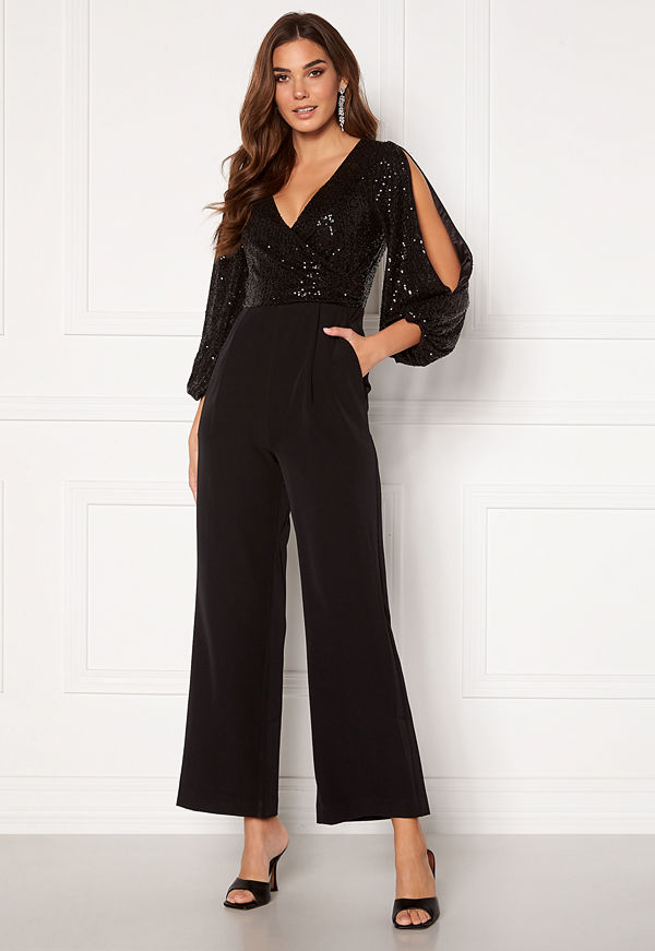 Forever New Clancy Jumpsuit Black