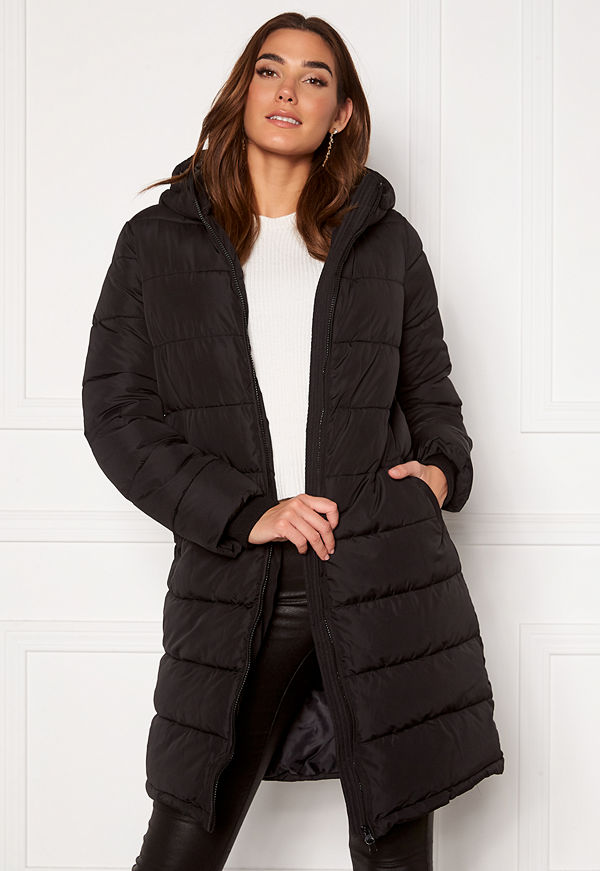 Pieces Bee Long Padded Jacket