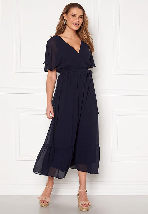 Happy Holly Linnea maxi dress Dark blue