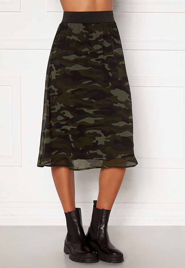 Happy Holly Zoey asymmetric skirt  Camouflage