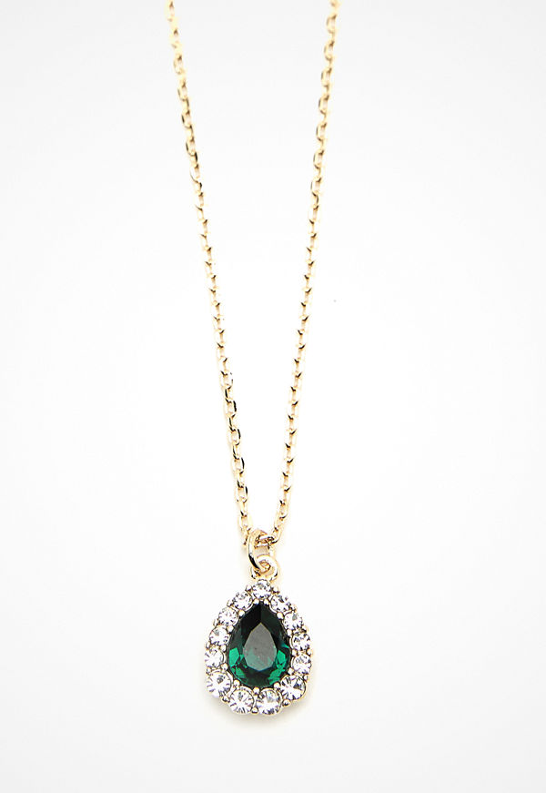 Lily and Rose halsband Amelie Necklace Emerald