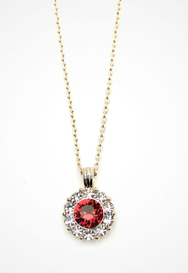 Lily and Rose halsband Sofia Necklace Scarlett Red
