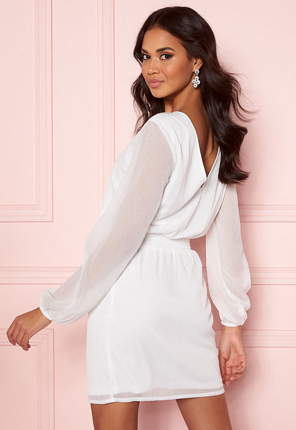 Bubbleroom Laurie dress White