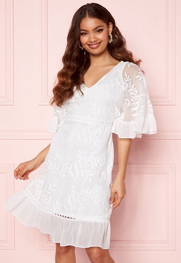 Happy Holly Teresa dress White