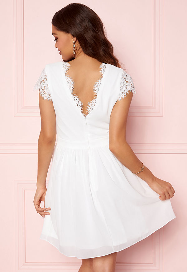 Moments New York Camellia Lace Dress White