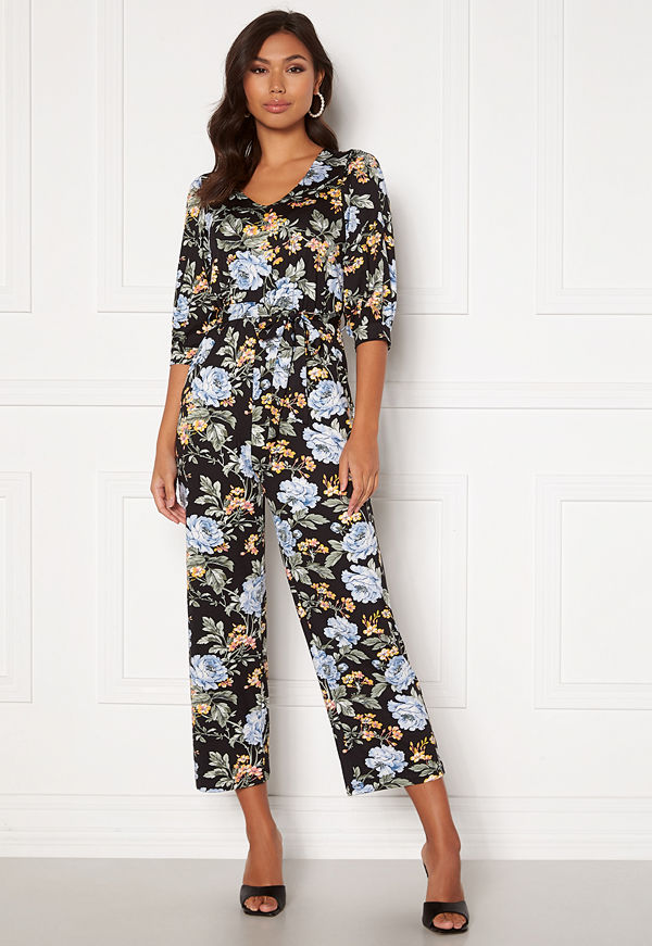 Happy Holly Tova puff v-neck jumpsuit