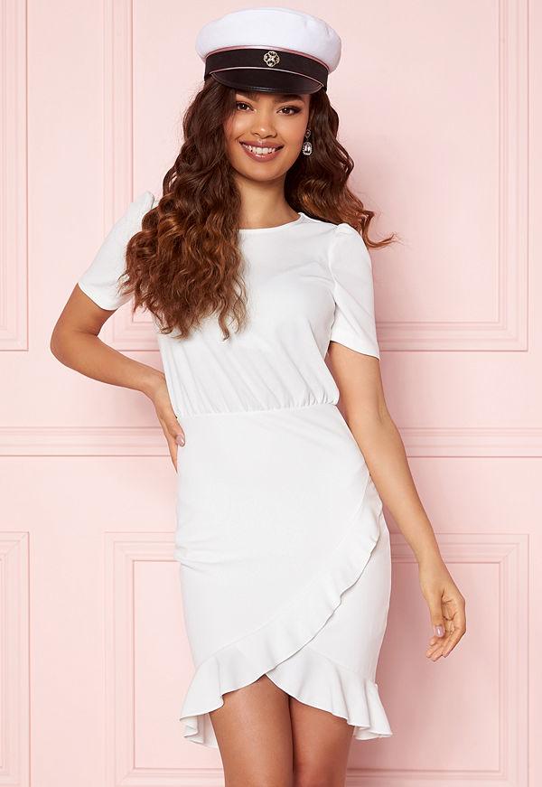 Bubbleroom Belle Dress White