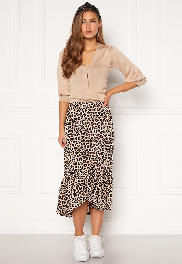Happy Holly Michelle skirt Leopard