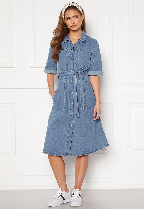 Jacqueline de Yong Athena 3/4 Belt Dress