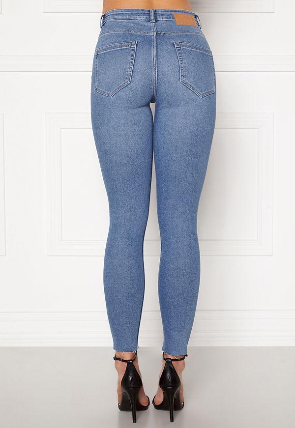 Pieces Midfive Flex Skinny Jeans