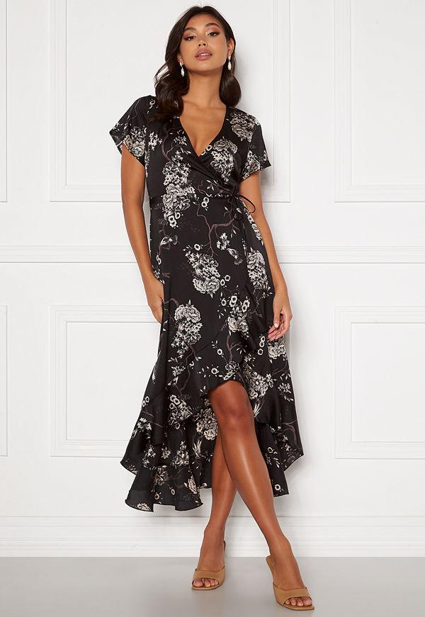 Chiara Forthi Nadine wrap flounce dress